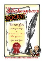 Shakespeare Rocks! Poster