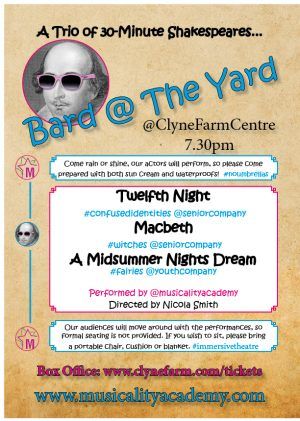 Bard@theYard Poster Musicality