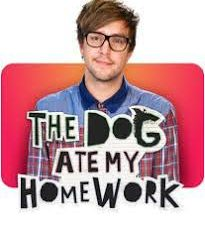 The Dog Ate My Homework Poster