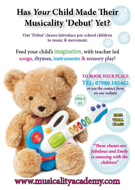 Debut leaflet