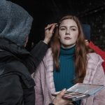 Sophie Oliver in Make Up for the film Shortcut
