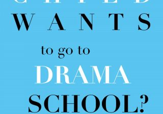 Book cover of So your child wants to go to drama school?